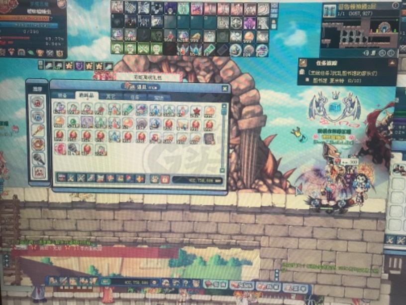 彩虹岛-账号-[梦魇恶魔300级]稀有职业超越166黑暗战士