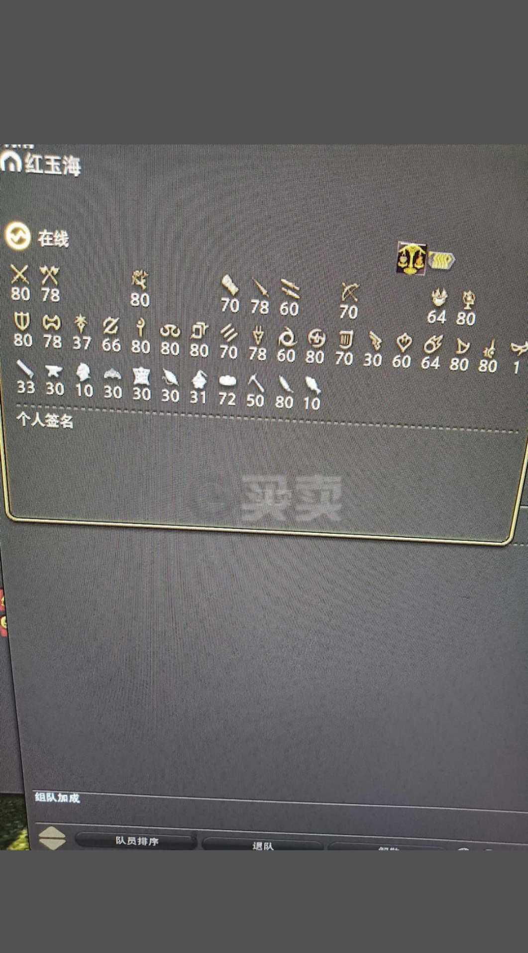 最终幻想14-账号-[剑术师80级]天阳马