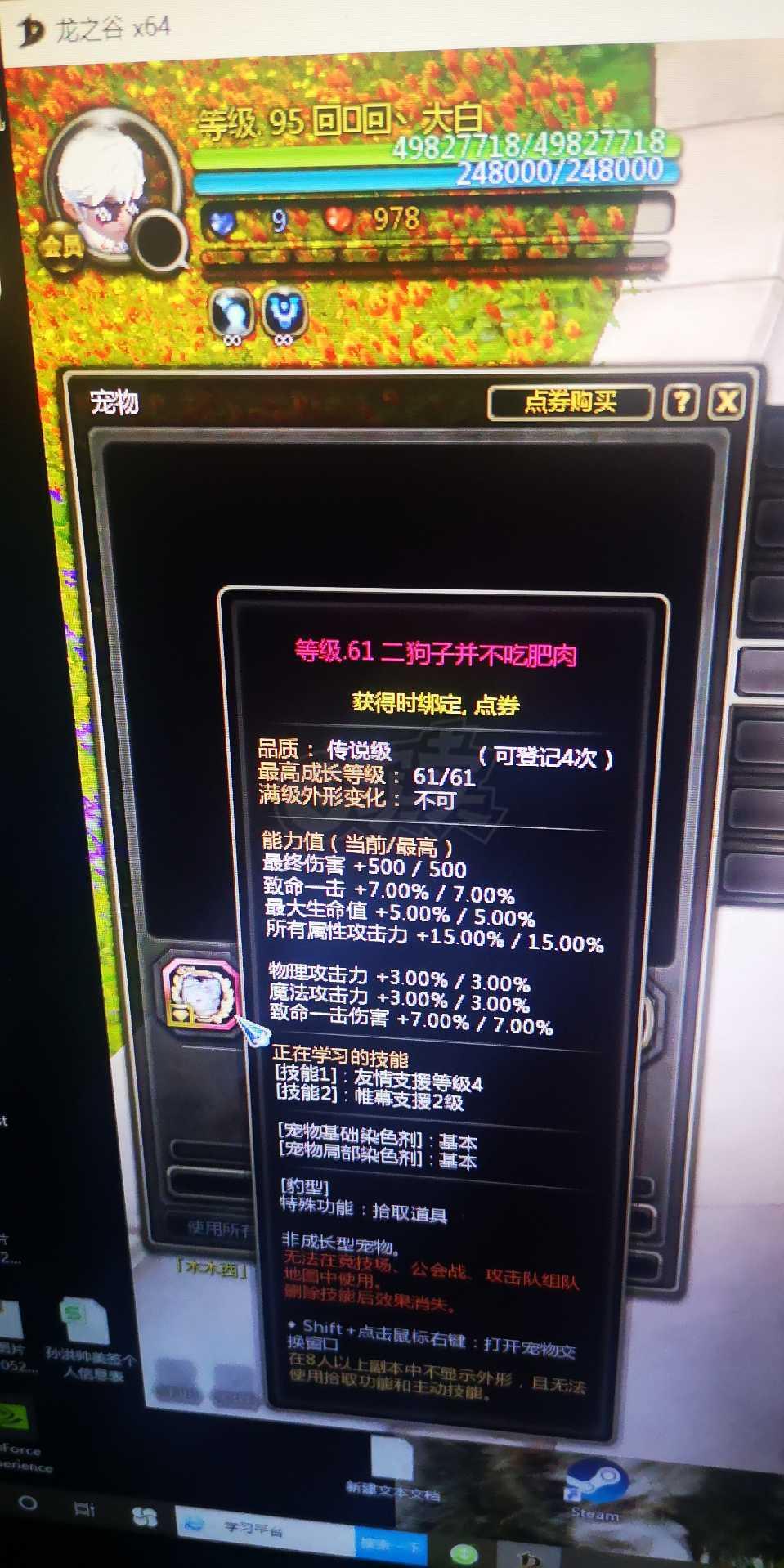 龙之谷-账号-[雷神95]19层3分